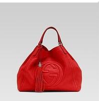2014 quality goods bought new handbag single shoulder bag red leather