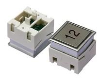 Elevator button for Thyssenkrupp The MTD283 DA280 button MTD280 lift spare part
