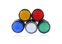 50pcs/lot , 22mm LED Indicator Pilot Signal Light Lamp AD16-22
