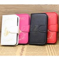 4 Colors Flip Leather Case Cover +LCD Film for LG OPTIMUS EXTREME L40G D160 D170 d