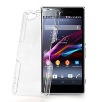 For Sony Xperia Z1 Compact Z1 mini M51W New High Quality Hard Plastic Crystal Clear Luxury Cover Lily's Shop