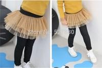 amber berry 6266 Korean brand boy pants girls plus velvet winter bottoming culottes Denim Wholesale