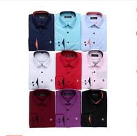 100% cotton shirt for man plus size brand new long sleeve casual shirt fashion classic men shirt dudalina luxury male shirts 3XL