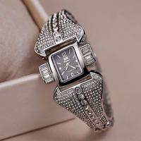 Cool Irregular Case Women Bracelet Watches Fashion European Style Party Dress Clock 100% 316L Band Import Quartz Relojes NW1766