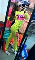 2014 track suit New Arrived sport suit women Fleece tracksuits 2 piece women hoody + pans