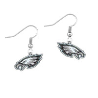 Free shipping 50pair a lot enamel NFL Philadelphia Eagles team logo sports earring(E108431)