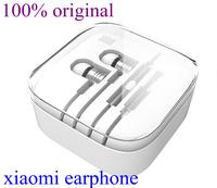 Original Silver XIAOMI 2nd Piston Earphone 2 II Headphone Headset Earbud with Remote & Mic For M3 MI2 MI2S MI2A Mi1S M1 Phones