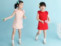 fashion design beautiful girl baby princess dress lace dress 5 PCS / 1 lot of high quality free shipping
