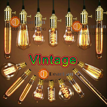 Wholesale Price,Vintage Edison Bulbs,E27 Incandiscent Light Bulbs For Decoration Of Living Room,Bedroom,Study,With CE&Rohs(China (Mainland))