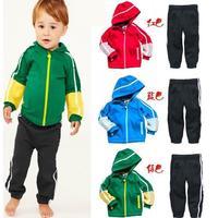 583#Free shipment fashion child clothing set retail sales