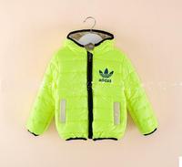 Free Shipment fashion kids outer coat boys outer coat moq 1pcs