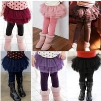 free shipment fashion kids skirt pants autumn style.