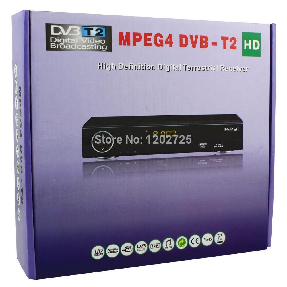 CVBS MPEG4 H.264 HDMI HD1080P PVR Media Player+Receiver DVB-T2 Tuner Set-top Box(China (Mainland))