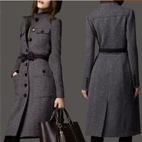 Норка норковые пальто леди haining всей норки в женские норковые шали длинное пальто с шапочкой