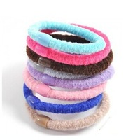 New Multi-colored Women Elastic Hairties/ Hair Accessories for girls