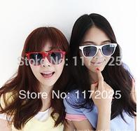 2014 Free Shipping Fashion New Goggles Unisex Wayfarer New 80s Style Joint Multi-coloured Summer Shade UV400 Sunglasses