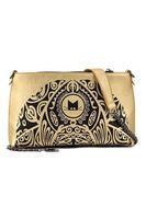 Gold Tribal Cat Print Leisure Clutch Bag  LC74025