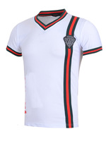 2014 Summer Men luxury Fashion knight brand Short Sleeve t shirt, casual tee +Free Shipping, 4 Colors Size M-2XL