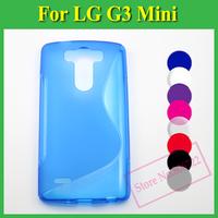 1 X Soft TPU Gel S line Skin Cover Case For LG G3 S / G3 Beat / G3 Mini / G3 S Dual D722 D724 D725 D728 D729