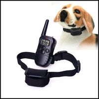 Petainer Rechargeable and Waterproof Remote Dog Training Collar with LCD Display