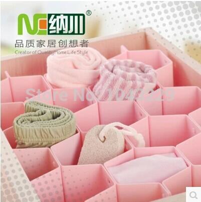 8 peças/lote celular gaveta compartimento celular terminando gaveta partições gaveta de armazenamento de underwear tidy(China (Mainland))