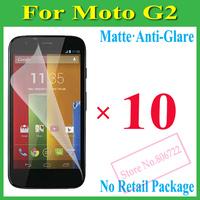 Matte Anti-Glare Anti Glare Screen Protector Protection Guard Film For Motorola Moto G2 / New Moto G XT1063 XT1068 XT1069,N P+10