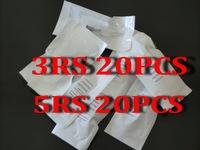 5RS 20Pcs +3RS 20Pcs Sterilized Disposable Tattoo Needles Permanent Makeup Eyebrow Machine Needles