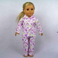 "Free shipping!! Doll Clothes For 18"" American Girl Dolls, Pajamas, 2pcs, girl birthday present,  gift, B03"