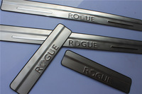 New 2014 ! door sill scuff plate 4pcs  For Nissan Rogue 2014