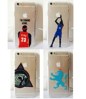 "Plastic Phone Case for Iphone 6 LEBRON ""HOME"" KD Slim phone cover for iphone 6"