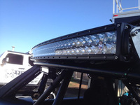 "2014 NEW! 50"" 288W CREE 96PCS 3WLED Offroad Curving LED Light Bar,LED Work Light Spot Flood for Truck SUV Tractor Boat 4WD"