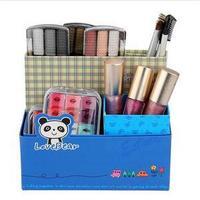 2014 New DIY Paper Board Storage Box Cosmetic Organizer Container Stuff Desk Decor
