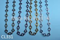 1Meter Link Chain Metal Findings 4Colors CL331