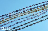 1Meter Link Chain Metal Findings 4Colors CL332