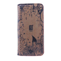 For iPhone 6 Plus Case 5.5 inch Luxury Leather Wallet Retro Volk Personality For Apple Smart Cover Hot Sale Retail Package Gift