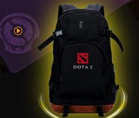 Backpack dota 2 logo bag black Shouler Bag messenger Laptop Keyboard Bag Travelling bag 31*50cm