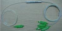 Free Shipping 10pcs/lot 0.9mm 1x4 Mini SC/APC PLC Splitter