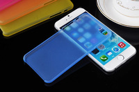 Muti Color Soft phone cases for iPhone 6 Plus 5.5 inches PP material  semi-transparent case anti-dust anti-knock Ultra-thin