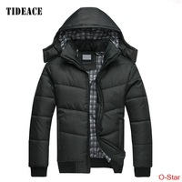 Down padded jacket Korean cultivating warm thick cotton padded jacket Mens New Winter cotton padded clothes wholesale