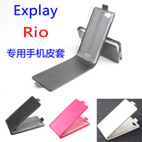 Brand Baiwei UP-Down Leather Stand Case FOR Explay Rio Cellphone, For Explay Rio Case