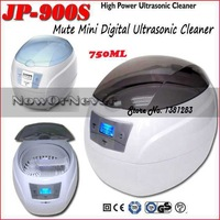JP-900S 750ml 50W Household Use Ultra Mute Digital Ultrasonic Cleaner For CD Glasses Watch Jewelry Denture +Free Basket+Supports