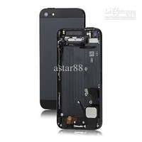 For iphone 5G Back Cover Full Complete Housing Assembly with Middle Frame Black and White for iphone 5G Free Shipping