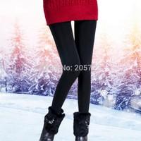 New winter plus thick velvet leggings seamless