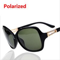 2014 new sunglasses women's polarizer diamond sunglasses polarized sunglasses tide  13111
