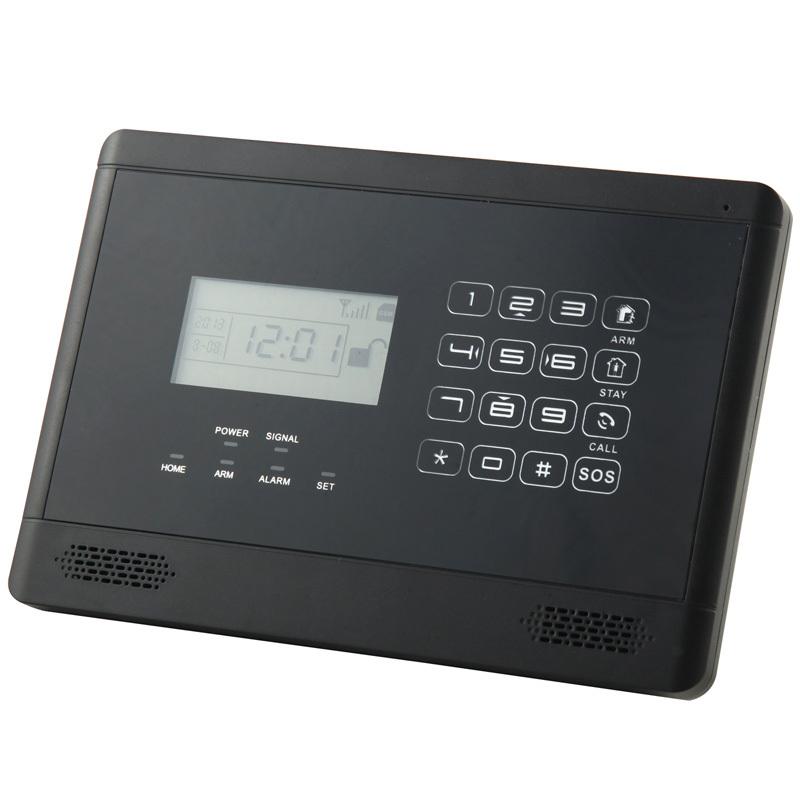 Бесплатная доставка! волк охранник беспроводной GSM сигнализации Inturder сигнализация сенсорной клавиатурой интеллектуальная GSM SMS главная охранной сигнализации система
