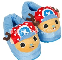 2014New cartoon cotton slippers, plush warm the whole package with warm feet warm feet that occupy the homePackage mail