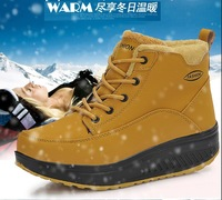 2014 Fashion Women's Autummn Shoes Casual Ladies Shoes Thickening Cotton-padded Shoes Ankle Boots Winter Women Shoes