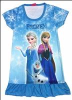 Retail Anna dress nightgown elsa girl dress for summer girls Anna Dream Dresses 325