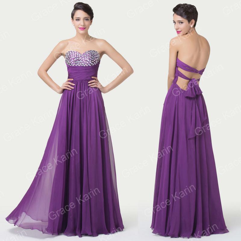 Платье на студенческий бал Grace Karin  CL6276