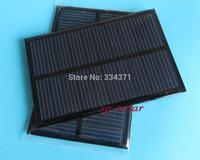 3PCS X 5V 180mA Mini monocrystalline polycrystalline solar Panel,5VDC solar cells module battery charger enducation kits